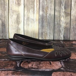 Aerosoles What's What Leather Flats
